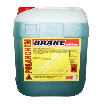 BRAKE oil-free — очиститель двигателя на водной основе (12кг. 10 л. 1:8.)