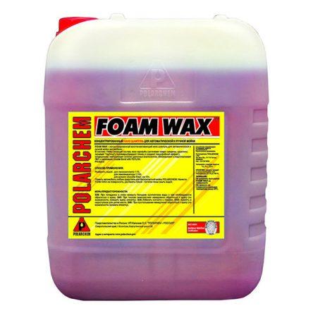 FOAM WAX — полимерный шампунь с гидрофобным эффектом (24кг. 20л. 1:20.)