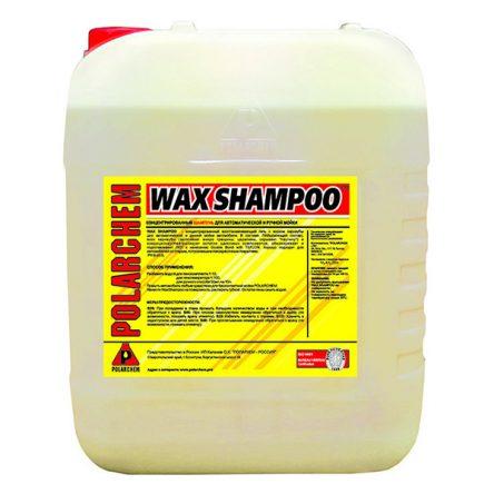 WAX SHAMPOO — восстанавливающий гель с воском карнаубы (24кг. 20л. 1:10.)