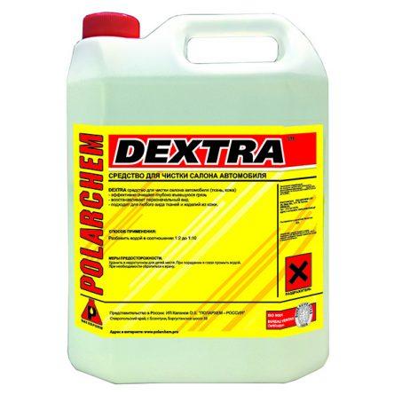 DEXTRA — химчистка ткани и кожи салона (3,8кг. 4л. 1:2/1:10.)