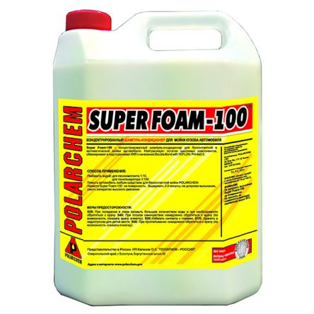 SUPER FOAM 100 — кондиционер нейтрализатор (4,4кг. 4л. 1:10.)