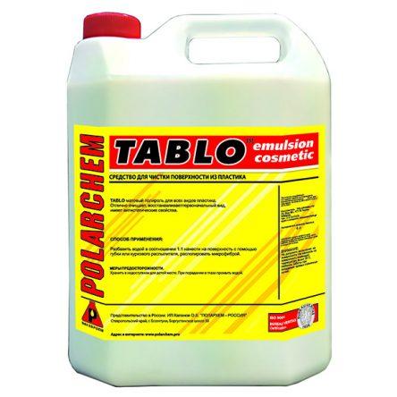 TABLO — матовый очиститель полироль пластика и кожи (4кг. 4л. 1:1.)