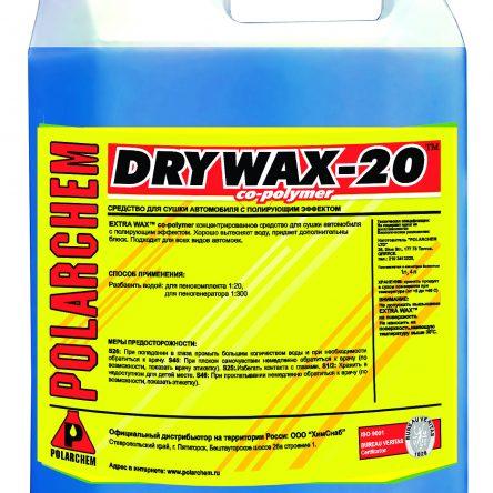 DRY WAX -20 co-polymer – воск осушитель (4,5кг. 4л. 1:20.)